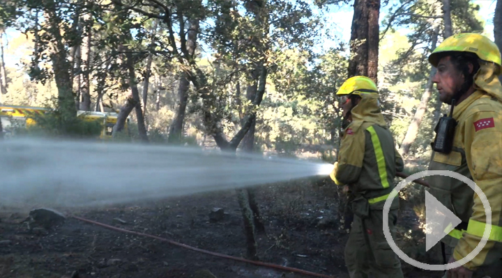 Madrid y Castilla y León acuerdan actuar más rápido ante incendios