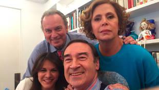 """En el estreno de """"Mi casa es la tuya"""" también intervinieron Fabiola y Pedro J Ramírez"""