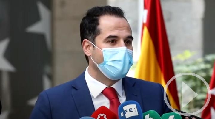 Aguado anuncia la ruptura del acuerdo con Ayuso