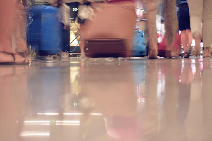 La Semana Santa multiplica por tres el envío de equipaje