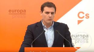 Cs apoyará la investidura de Garrido en Madrid