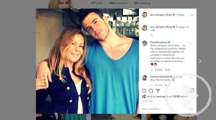 Ana García Obregón en Instagram: