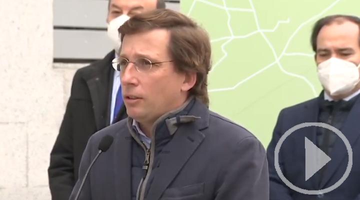Almeida niega malestar por entrevista de Aznar