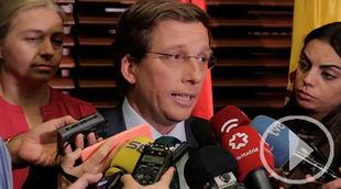 Almeida señala 'dejación de funciones' con Madrid Central