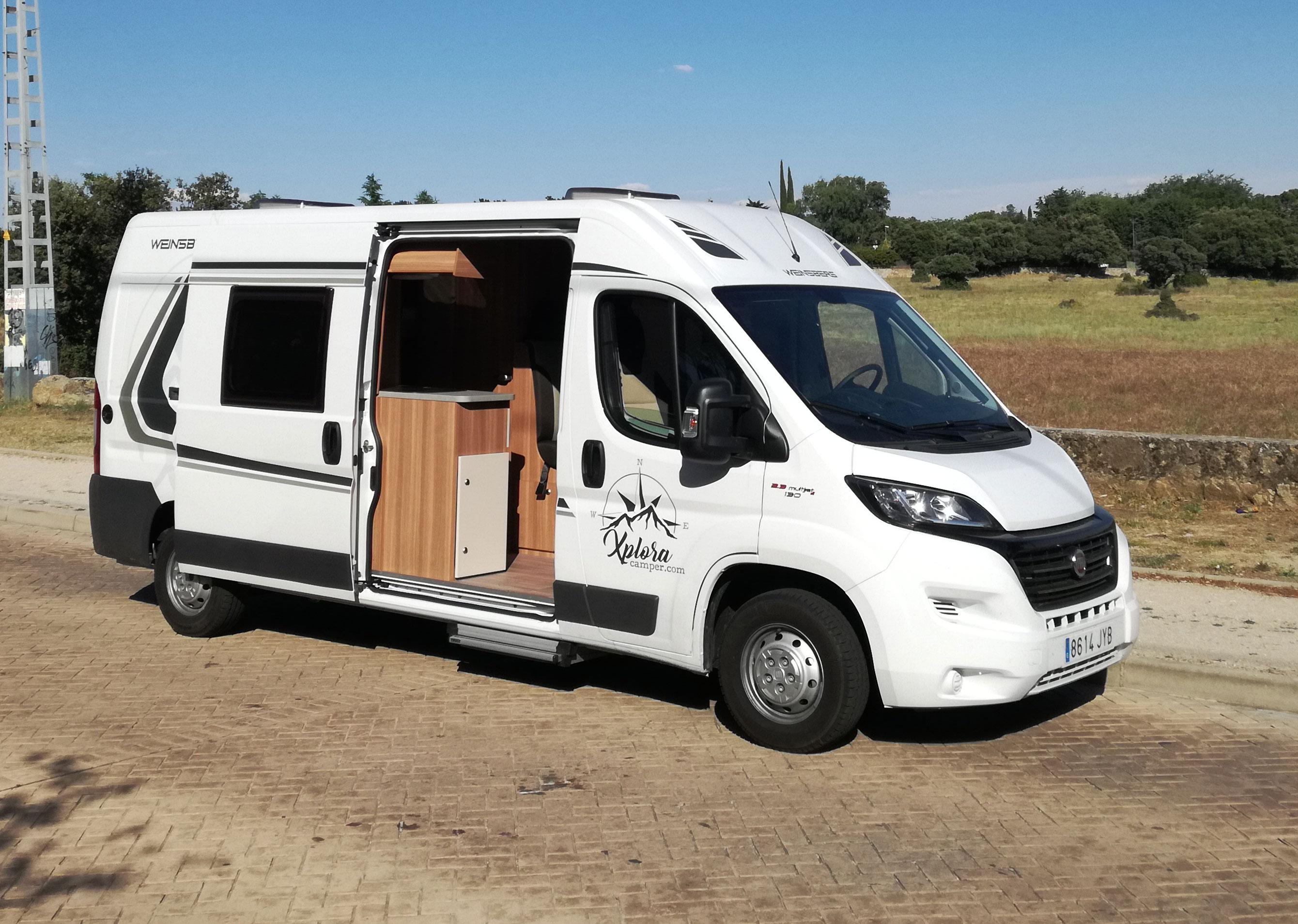 Una furgoneta camper la mejor soluci n para los excursionistas m s exigentes madridiario - Muebles furgoneta camper ...