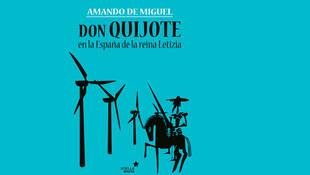 """Amando de Miguel presenta su libro """"Don Quijote en la España de la Reina Letizia"""