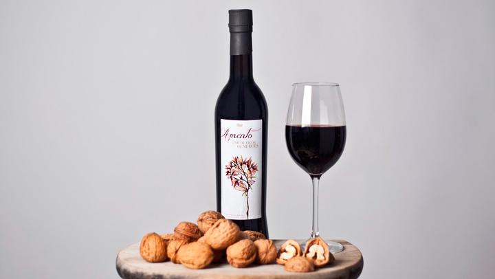 'Amento' el vino de nueces del que solo hay 4000 botellas