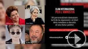 Conocidas personalidades reclaman amnistía por el 1-O
