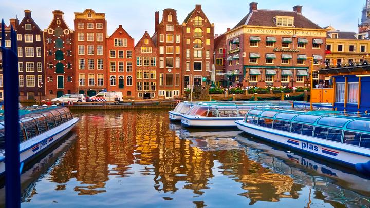 Destino de la semana: Ámsterdam, una ciudad de cuento