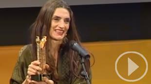 Ángela Molina, premiada en Medina del Campo