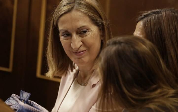Ana Pastor, elegida presidenta del Congreso de los Diputados