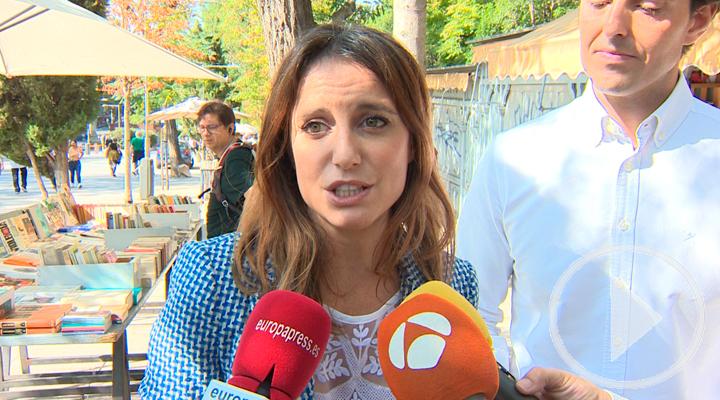 Andrea Levy señala la grandeza cultural de Madrid