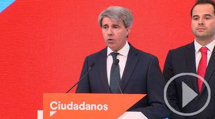 Ángel Garrido, número 13 de Ciudadanos a la Asamblea