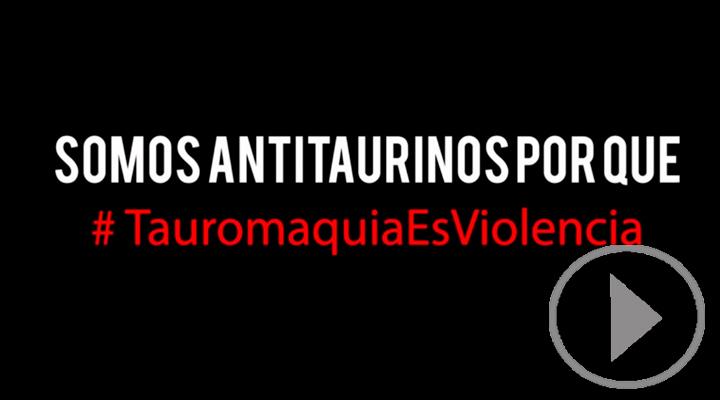 Colectivos antitaurinos muestran su rechazo a la violencia verbal contra Víctor Barrio