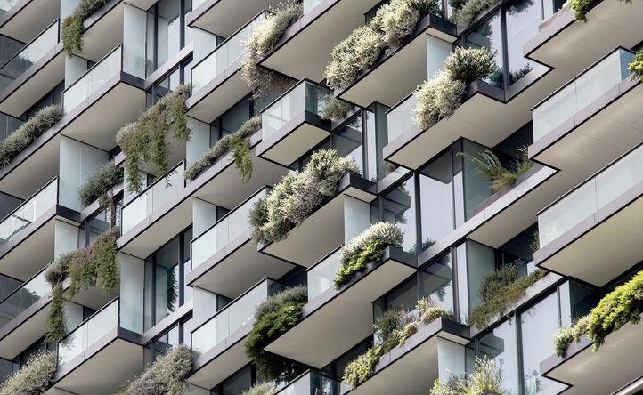 BBVA lanza una línea de préstamos para promoción de viviendas 'verdes'