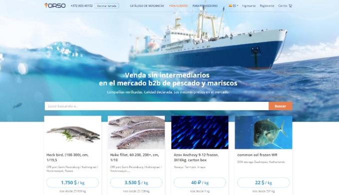 Un nuevo marketplace para pescadores es la solución de su propio comercio electrónico