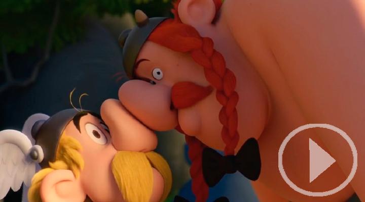 La nueva entrega de Asterix y Obelix llega hoy a los cines