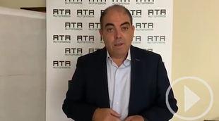 Lorenzo Amor de ATA valora los datos de la EPA