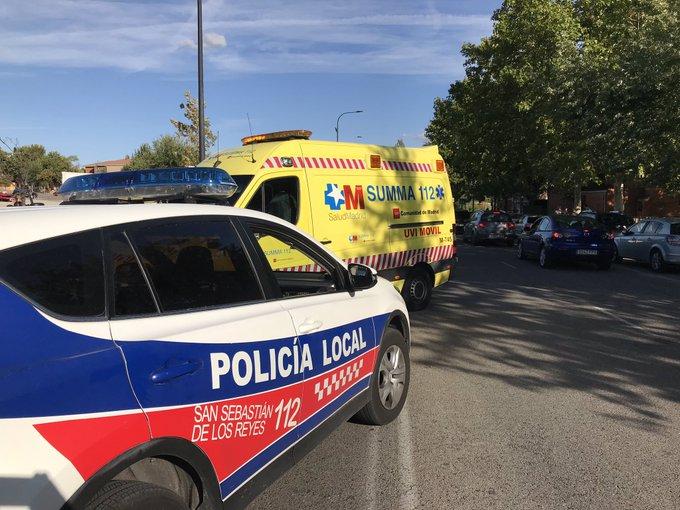 Atropellado un niño de ocho años en San Sebastián de los Reyes.