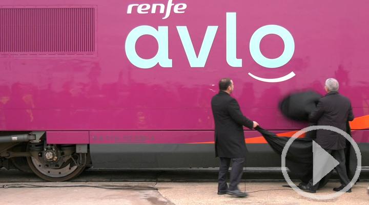 Renfe presenta AVLO, su nuevo AVE 'low cost'