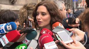 Ayuso: 'Quieren acabar con la autonomía de Madrid'