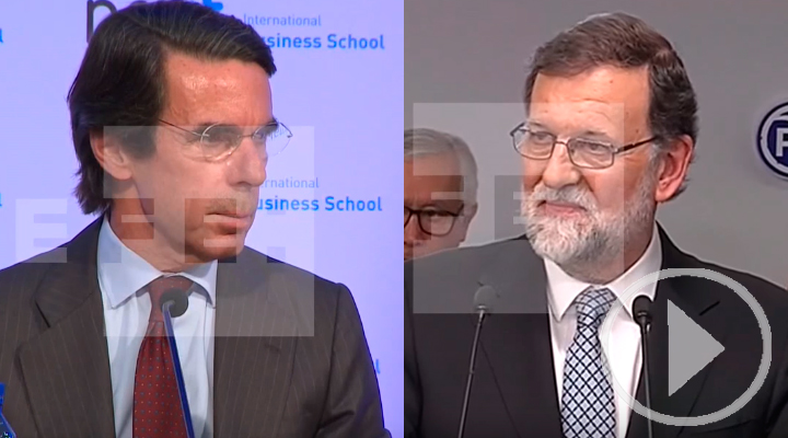 Rajoy se va y Aznar se ofrece a colaborar