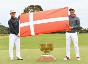 Dinamarca consigue su primera victoria en la Copa del Mundo