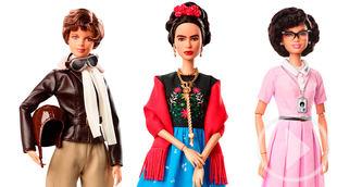Barbie rinde homenaje a 17 mujeres con motivo del 8M