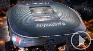 El Bernabéu y su 'vanguardista' reforma