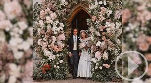 Primeras imágenes de la boda de Beatriz, la hija del príncipe Andrés de Inglaterra