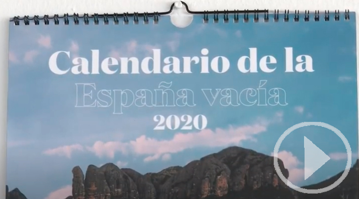 Lanzan el primer calendario de la España vacía