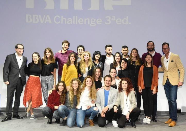 Los seis equipos finalistas de Blue BBVA Challenge