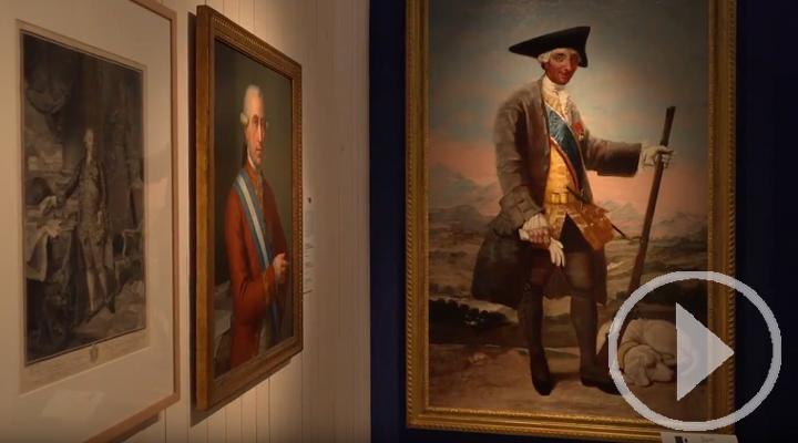 La faceta menos conocida de Carlos III en la exposición 'Una corte para el Rey'