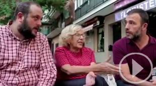 Carmena, Murgui y Zapata conversan sobre Villaverde