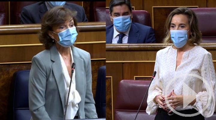 Enfrentamiento en el Congreso marcado por la ausencia de Sánchez