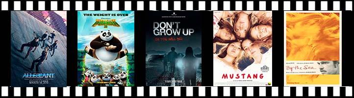 La serie Divergente y Kung Fu Panda regresan a los cines esta semana con su tercera entrega