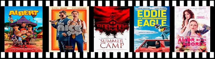Un campamento de verano terrorífico y dos matones a sueldo protagonizan los estrenos de esta semana