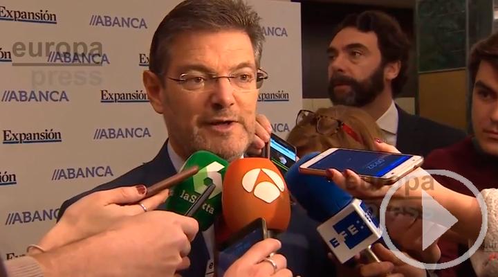 Catalá niega un intercambio de Falciani por Marta Rovira