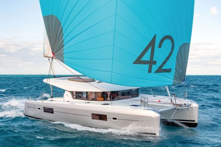 Lagoon catamarán: diseño, confort, modernidad y facilidad de maniobra