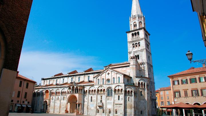 Modena, la ciudad donde comparten protagonismo arte y cocina