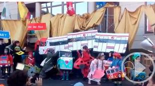 Los carnavales de Soto del Real reivindican un Cercanías