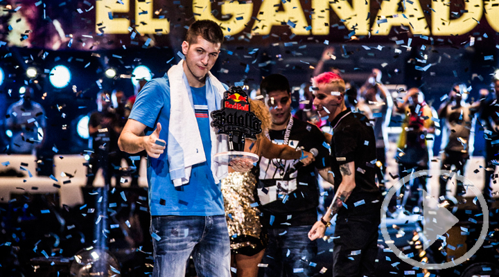 El madrileño Chuty gana la Red Bull Batalla de los Gallos