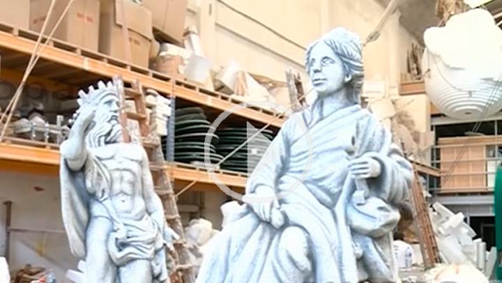 Las fuentes de Cibeles y Neptuno, rumbo a Milán