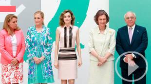 La reina Letizia agradece la labor de la reina Sofía como presidenta de honor de la FAD