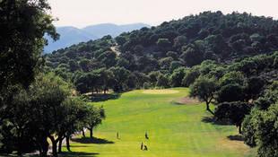 Jugamos en el Real Club de Campo de Córdoba, en mitad del parque forestal Los Villares.
