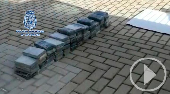 Abortado el pase de 150 kilos de cocaína en Atocha