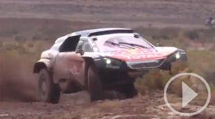Carlos Sainz, es nuevo líder en coches en el Dakar