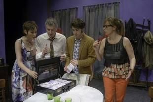 'Coge el dinero y corre' en el Teatro Fígaro