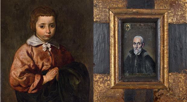 Dos retratos de Velázquez y El Greco, respectivamente, declarados Bien de Interés Cultural.