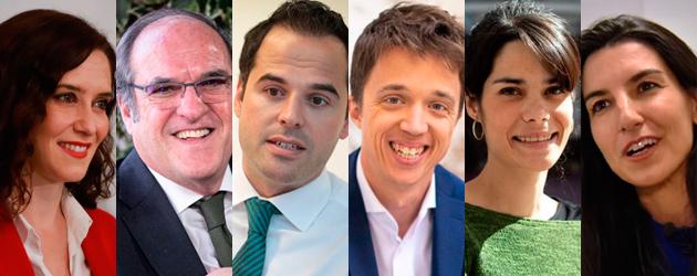Además de las seis formaciones presentes en todas las encuestas, a las elecciones autonómicas del 26 de mayo se han presentado otras nueve candidaturas.